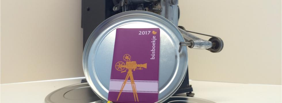 Bûsboekje 2017 thema film en Fryslân