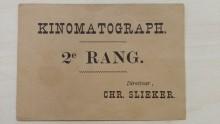 Bioscoopkaartje Slieker