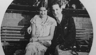 Joodse Groningers Max Roeper en zijn vrouw Loes Piekema, die de oorlog overleefde